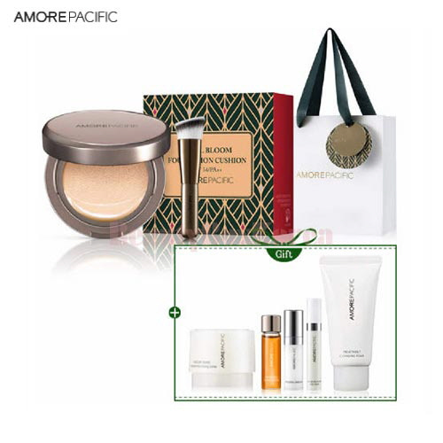 AMOREPACIFIC Ideal Bloom Foundation Cushion Set 8items [Holiday Edition]